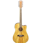 AE Oscar Schmidt 12 String Electric Spalted Maple