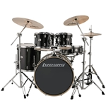 Ludwig Element 22 Black Drum Set
