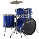 Ludwig Accent 20 Blue Foil Drum Set