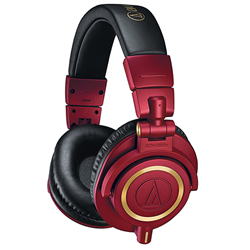 Headphones Audio Tech M50x Limited E Red