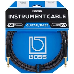 "Boss 10' 1/4"" Straight-Straight Instrument Cable"