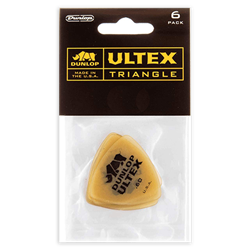 Picks 6pk Dunlop Ultex Tri .60mm