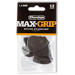 Picks 12pk Dunlop Max Grip 1.0mm
