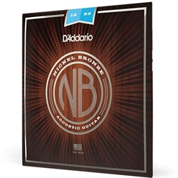 Strings Acoustic Gtr D'Addario Nickle Bronze 11-52